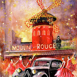The Moulin Rouge Authentic by Miki De Goodaboom