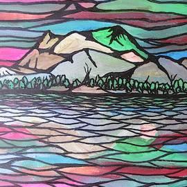 The Mountain Range by Bradley Boug