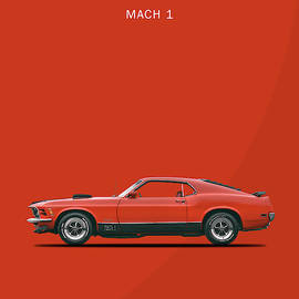 The Mustang Mach 1 by Mark Rogan