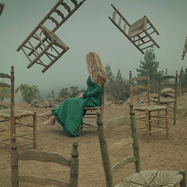The mystery of flying chairs by Masha Lince