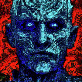 The Night King is the leader of the White Walkers. Game of Thrones.  Fantasy.  by Andy Za