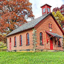 The Old Brick School House by Marcia Colelli