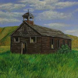 The Old Collins School House by Louise Williams