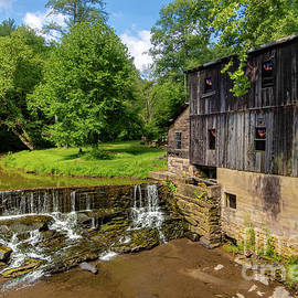 The Old Cotton Hill Mill by Norma Brandsberg