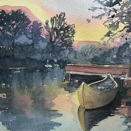 The Old Dock by Luisa Millicent