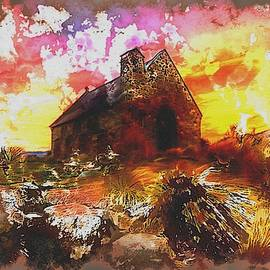 The Old Irish Church by Mario Carini