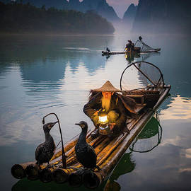 Inge Johnsson - The Old Li River Fisherman