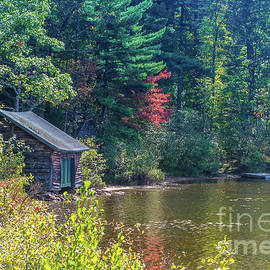 The old little boat house by Claudia M Photography