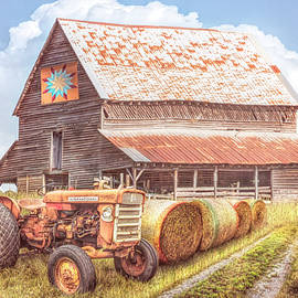 The Old Quilt Barn Country Colors by Debra and Dave Vanderlaan