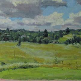 The outskirts of Yasnaya Polyana by Nikolay Dmitriev
