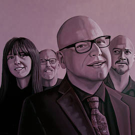 The Pixies Painting by Paul Meijering