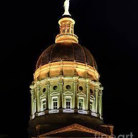 The Powerhouse At Night Georgia State Capital Art by Reid Callaway