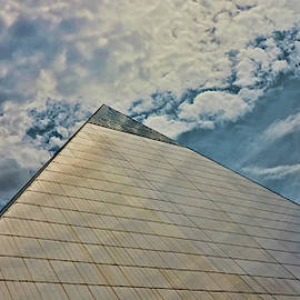 The Pyramid - Memphis by Allen Beatty