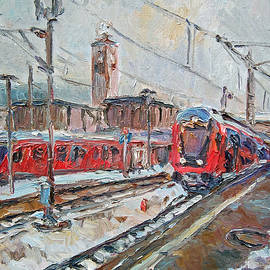 The Red Trains by Stefan Boettcher