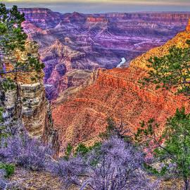 The River Runs Thru Grand Canyon National Park Arizona Landscape Art by Reid Callaway