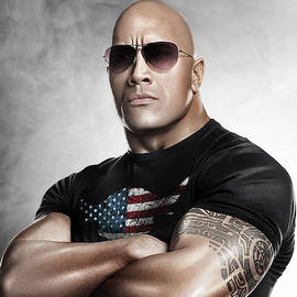 The Rock Dwayne Johnson I I by Movie Poster Prints