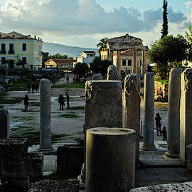 The Roman Agora in Athens by Cassi Moghan