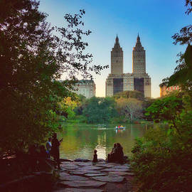 The San Remo - From Central Park New York by Miriam Danar