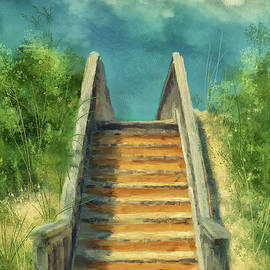 The Sandy Steps Over The Dunes by Lois Bryan