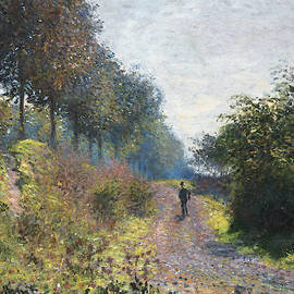 Claude Monet  French - The Sheltered Path