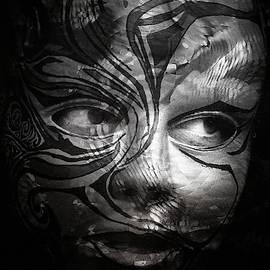 The silver mask by Gun Legler
