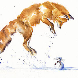 Leaping Fox - The Snowmouse by Debra Hall