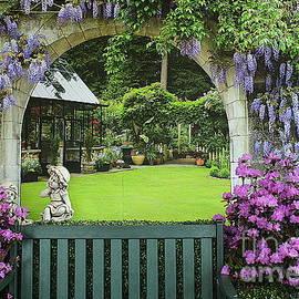 The Springtime Garden by Dora Sofia Caputo