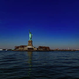 The Statue Of Liberty by Eric Christopher Jackson