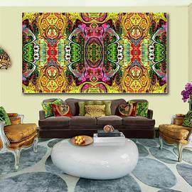 The Tapestry Bazaar --Artwork in Situ by Grace Iradian