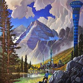 The Three Towers by Art West
