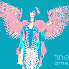 The Tie-dyed Angel #1 by Diann Fisher
