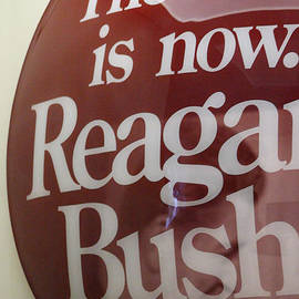 The Time Is Now Reagan Bush by Colleen Cornelius