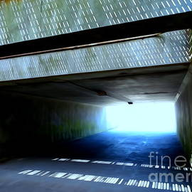 The Beach Tunnel by Ed Weidman
