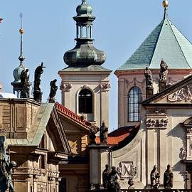 The View From Charles Bridge by Ira Shander