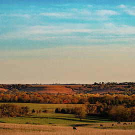 The Wakarusa River Valley by Jeff Phillippi