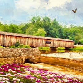 The Watson Mill Bridge by Tina LeCour
