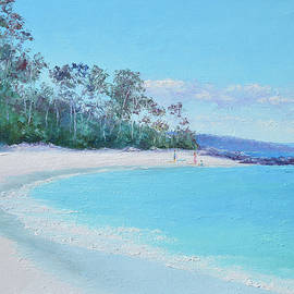 The White Sands of Hyams Beach by Jan Matson