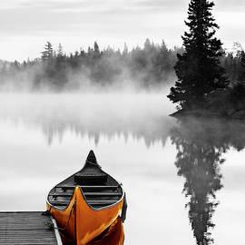 The Yellow Canoe by Mircea Costina Photography