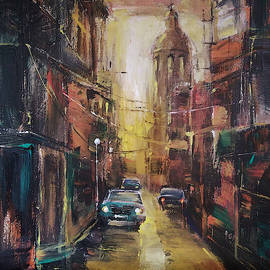 The Yellow Street by Stefano Popovski