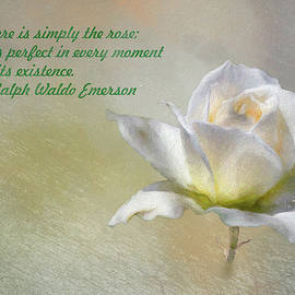 There is Simply the Rose by Emerson by Linda Brody