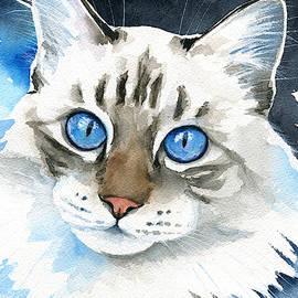 Those Blue Eyes by Dora Hathazi Mendes