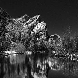 Three Brothers Monochrome 2 by Anthony Michael Bonafede