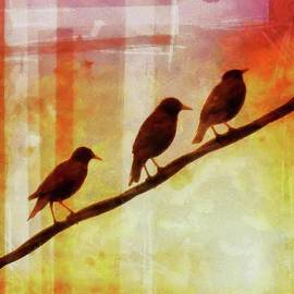 Three Little Birds by Putterhug Studio