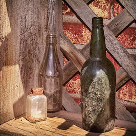 Three Old Bottles by James Eddy