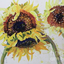 Three Sunflowers by Marsha Reeves