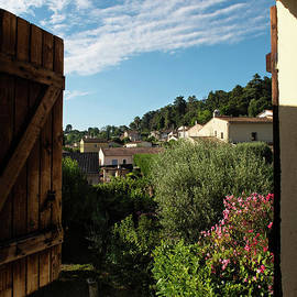 Through an Open Window to the South of France by Jackie Follett