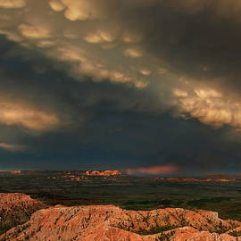 Thunderstorm Over Bryce Canyon National Park Utah by Dave Welling