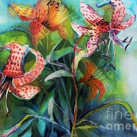 Tigerlilies Glowing Lght by Mindy Newman