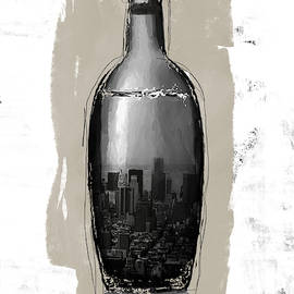 Time In A Bottle 2- Art By Linda Woods by Linda Woods