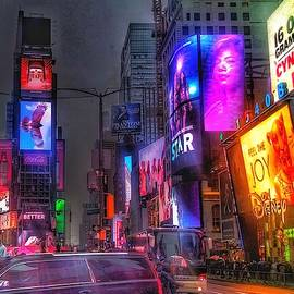 Times Square - The Light Fantastic 2016 by Christopher Lotito
